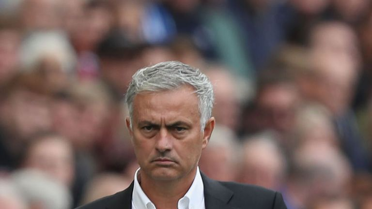 Jose Mourinho finds himself under scrutiny at Manchester United