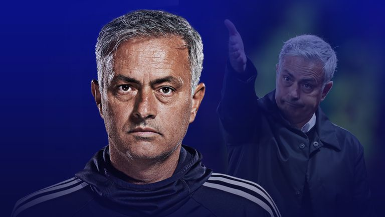 Jose Mourinho was left frustrated after Manchester United's 3-0 defeat to Tottenham