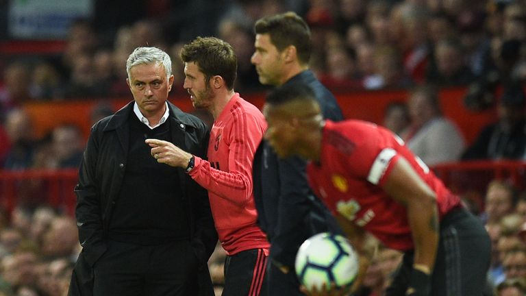 Carrick is now a first-team coach at United under Jose Mourinho