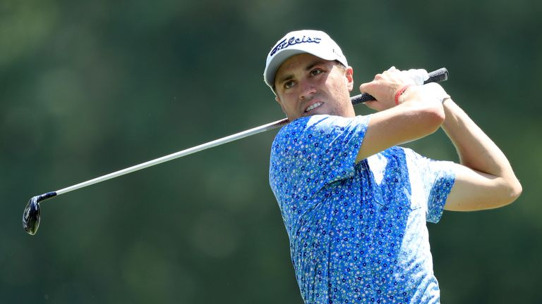 Thomas has a three-shot lead over McIlroy and Poulter