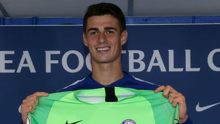 The world's most expensive goalkeeper, Kepa Arrizabalaga, is in line to make his Chelsea debut at Huddersfield on Saturday