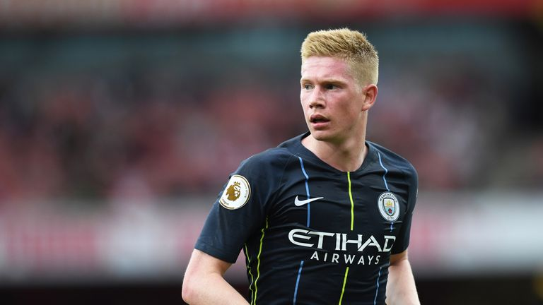 De Bruyne has scored 21 goals for Manchester City