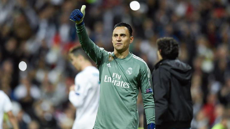 Keylor Navas is currently Real Madrid's No 1 goalkeeper