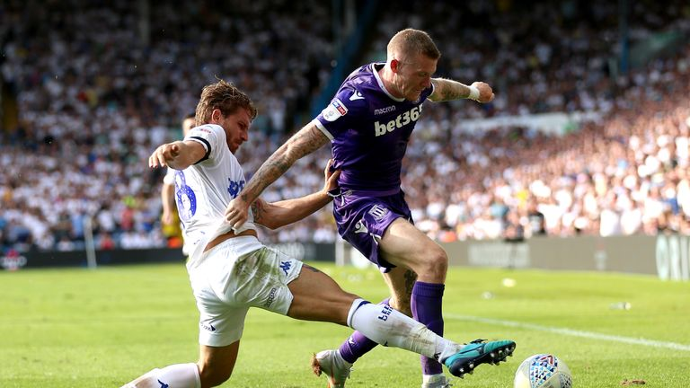Leeds were better than Stoke in every department, says Keith Andrews