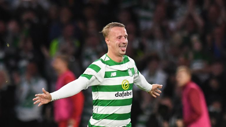 Celtic's Leigh Griffiths has scored two goals in 11 appearances in 2018/19