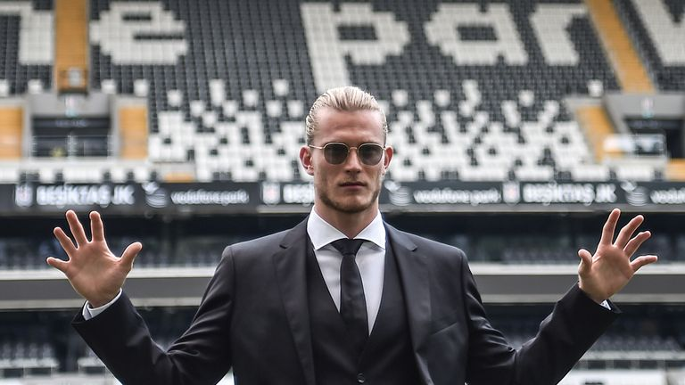 Karius has joined Besiktas on a two-year loan