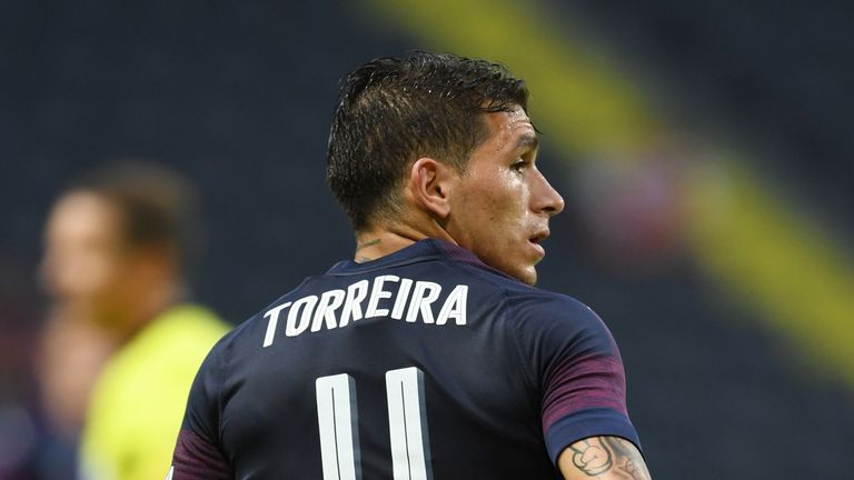 Torreira was solid if unspectacular on his first start