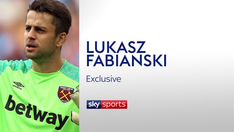 Lukasz Fabianski joined West Ham this summer from Swansea
