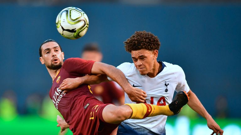 The youngster impressed on the club's pre-season tour of the USA