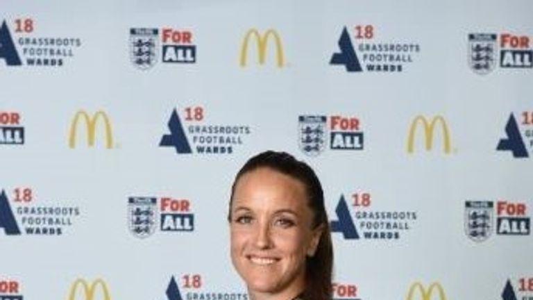 Stoney at the 2018 FA & McDonald's Grassroots Football Awards