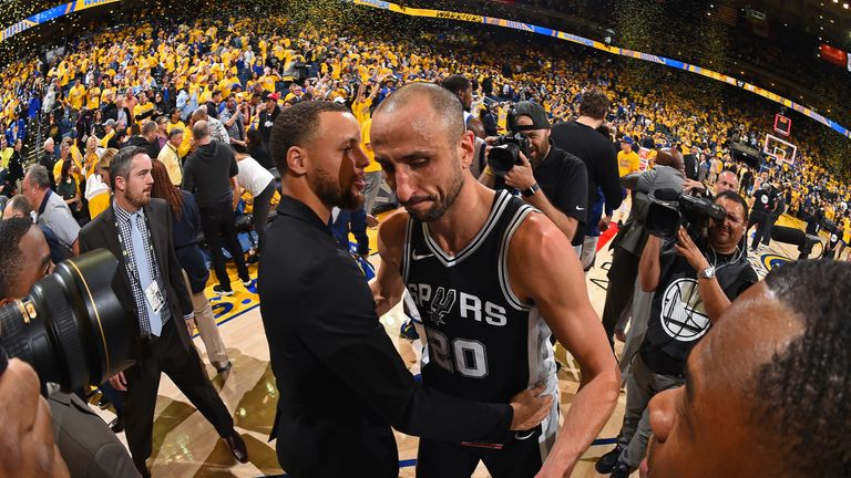 Manu Ginobili is bowing out after a sensational career for San Antonio