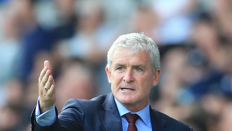 Mark Hughes wants Southampton to be more prolific in front of goal