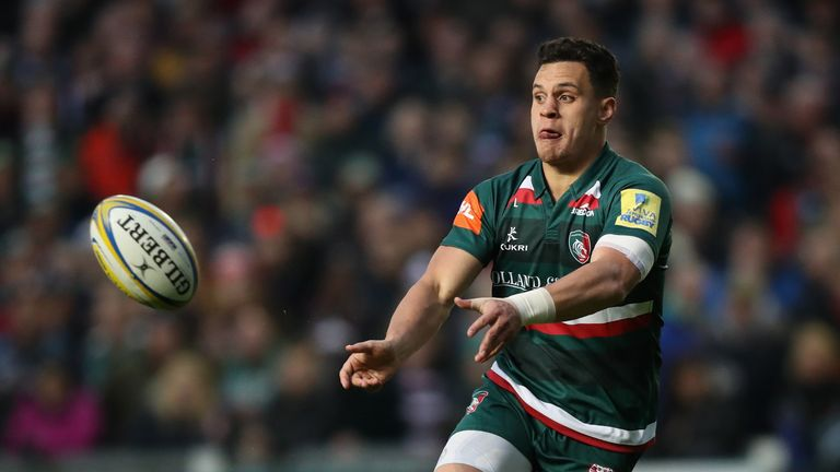 Leicester's Matt Toomua will link up with the Rebels following the Premiership season in England