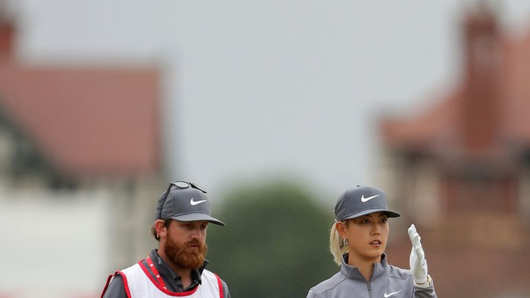 Wie was one of the early starters on Thursday morning