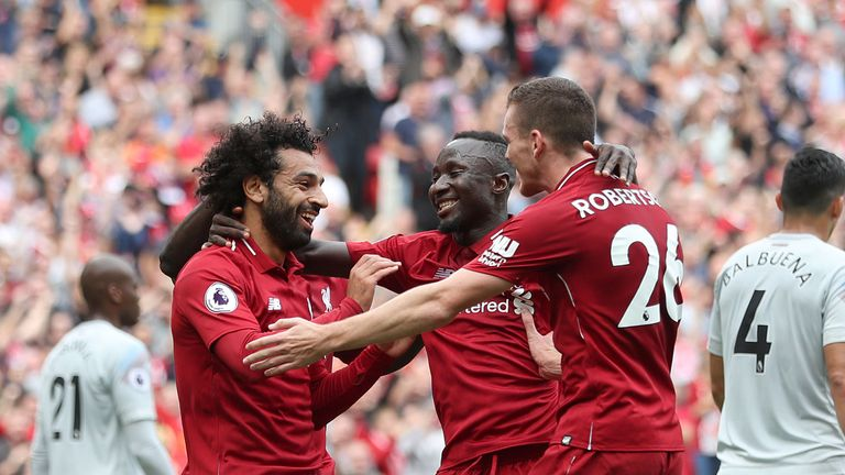Liverpool face Crystal Palace on Monday Night Football