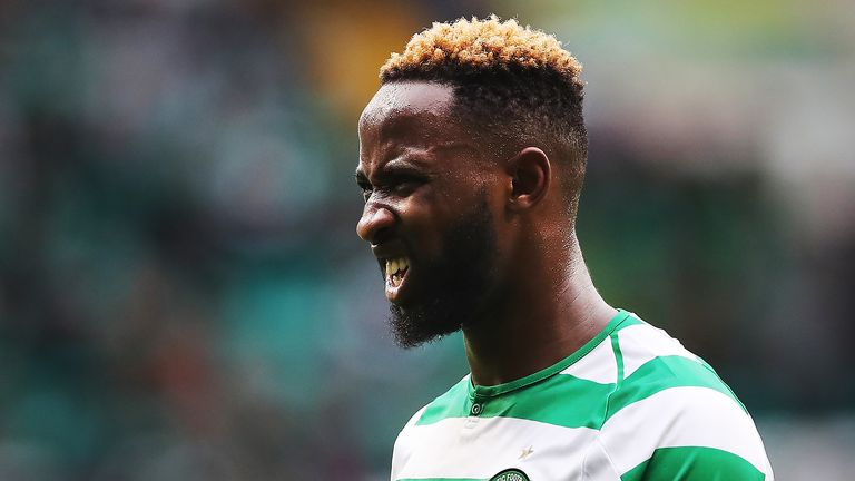 Moussa Dembele of Celtic is wanted by Lyon