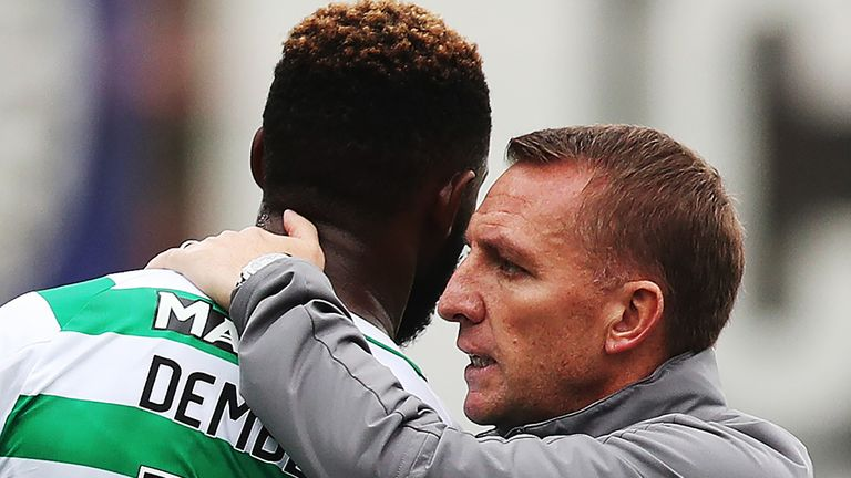 Brendan Rodgers is confident of keeping Moussa Dembele at Celtic