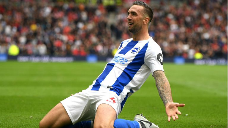 Shane Duffy's goal helped inflict United's first defeat of the season at Brighton a fortnight ago