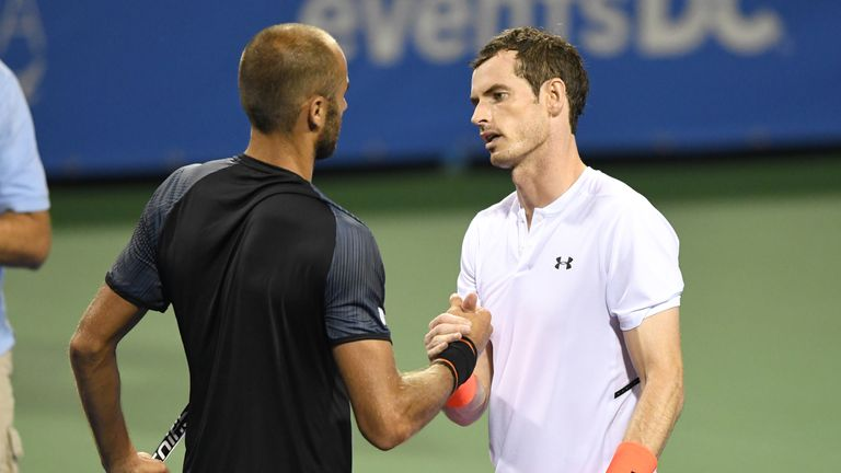 Andy Murray needed three hours to defeat Marius Copil in his second meeting with the Romanian