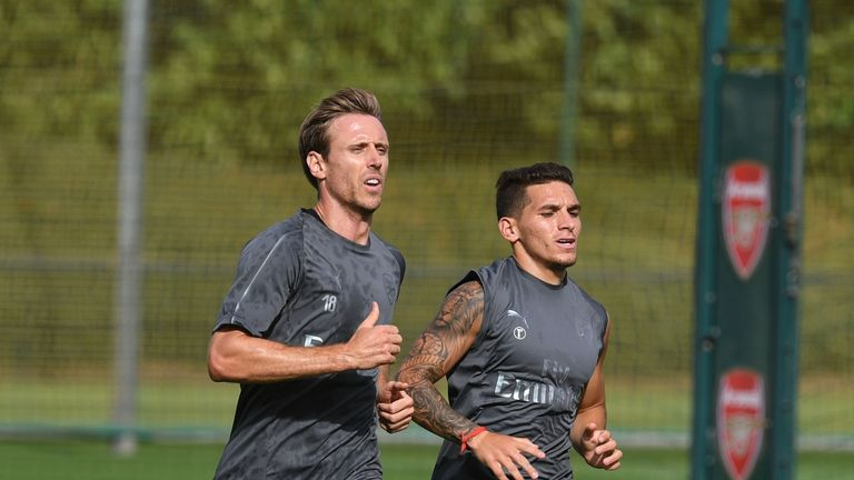 Nacho Monreal is yet to feature for Arsenal since returning from the World Cup