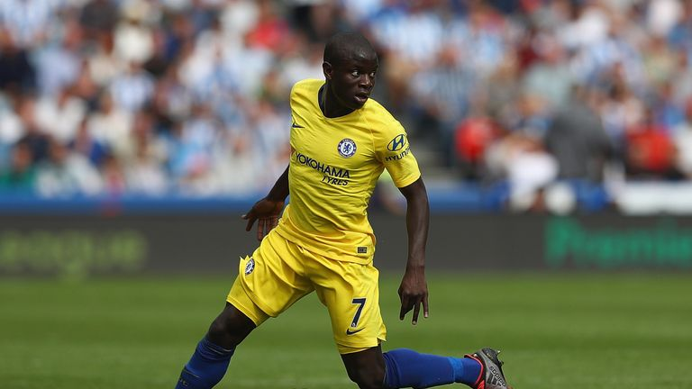 Kante has been an ever-present for Chelsea in the Premier League this season