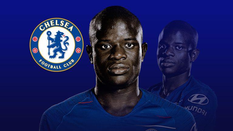 N'Golo Kante has a new role at Chelsea this season under Maurizio Sarri