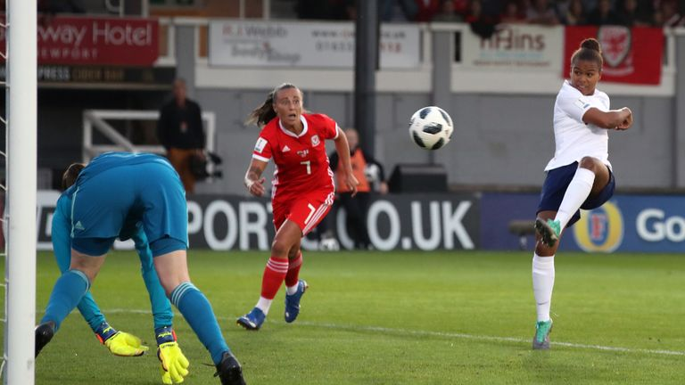 Nikita Parris had an early goal ruled out for offside