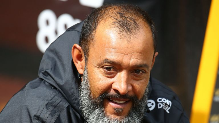 Wolves manager Nuno is expected to name another unchanged line-up