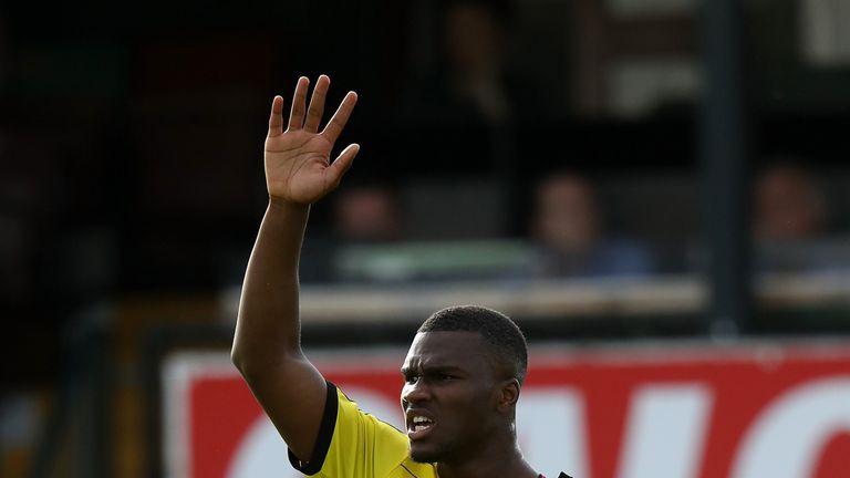 Obbi Oulare has joined Standard Liege on a season-long loan