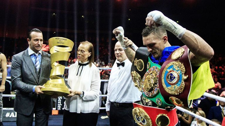 Oleksandr Usyk defeated Murat Gassiev in the World Boxing Super Series final