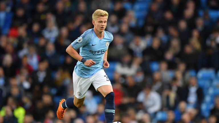 Oleksandr Zinchenko is hoping to show what he can do against Fulham