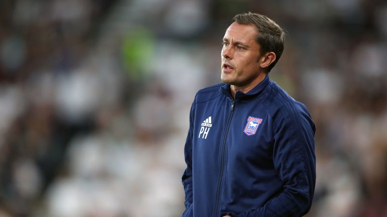 Paul Hurst hasn't had the easiest start at Ipswich
