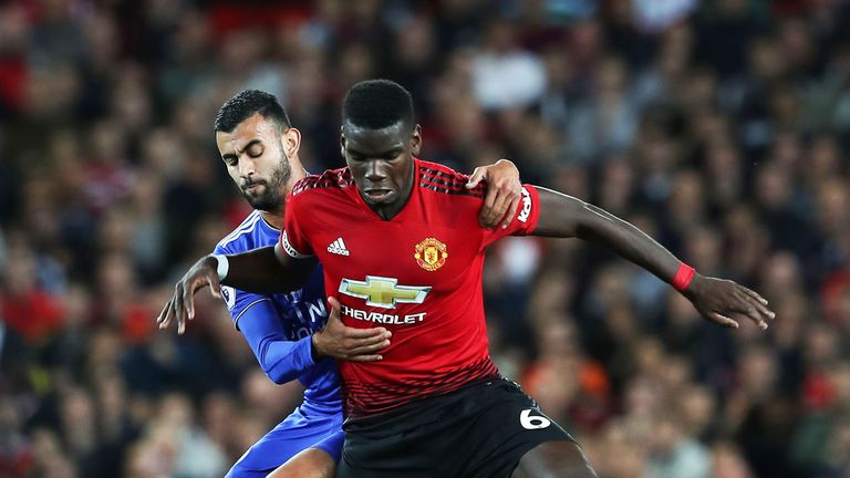 Paul Pogba has admitted he has to bite his tongue when discussing his situation at Old Trafford