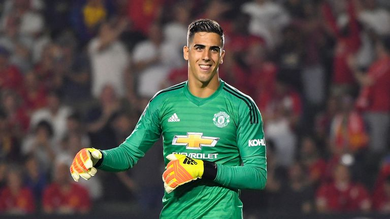 Joel Pereira played a key role in Manchester United's tour of the US