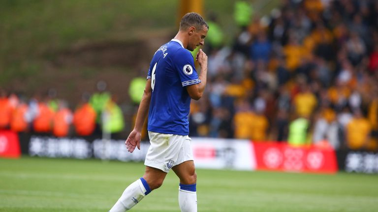 Phil Jagielka has hardly featured under Silva, despite being club captain