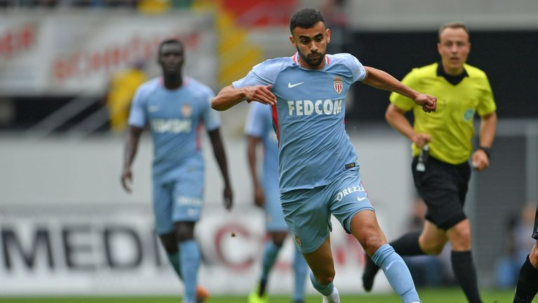 Rachid Ghezzal joined Monaco from Lyon last summer