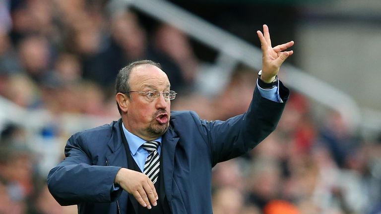 Benitez spent just £22.5m in the summer transfer window