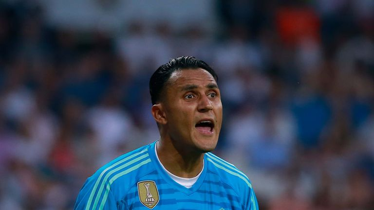 Real 'keeper Keylor Navas is interesting Juventus