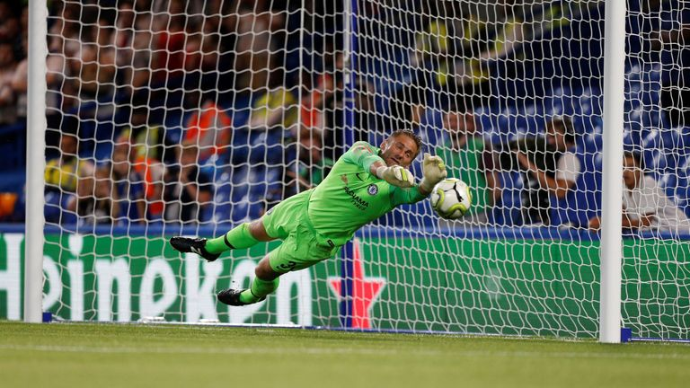 Green's penalty save allowed Hazard to step up and score the wining spot-kick