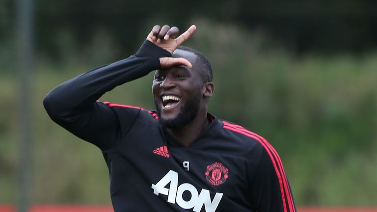 Romelu Lukaku has not scored for Manchester United in nine games