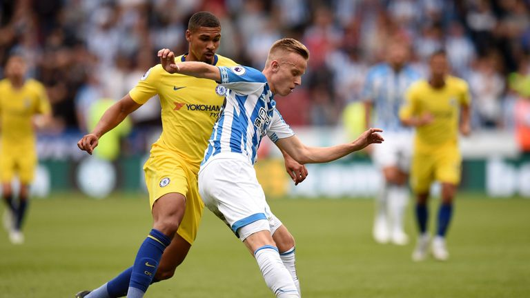 Ruben Loftus-Cheek came on as a substitute against Huddersfield on Saturday
