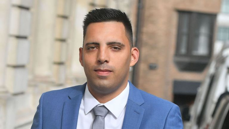 Ryan Ali is also accused of affray alongside Stokes