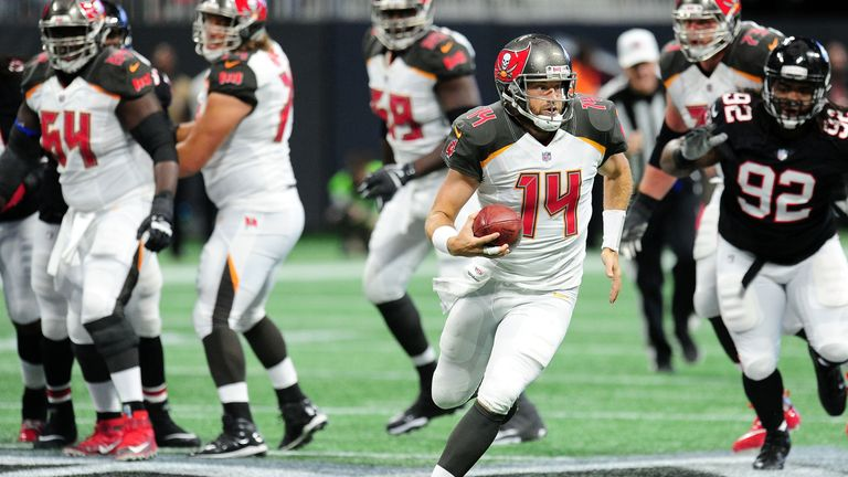 Tampa Bay will hope to protect Fitzpatrick with an improved offensive line