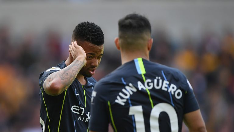 Gabriel Jesus endured a difficult first half of the season