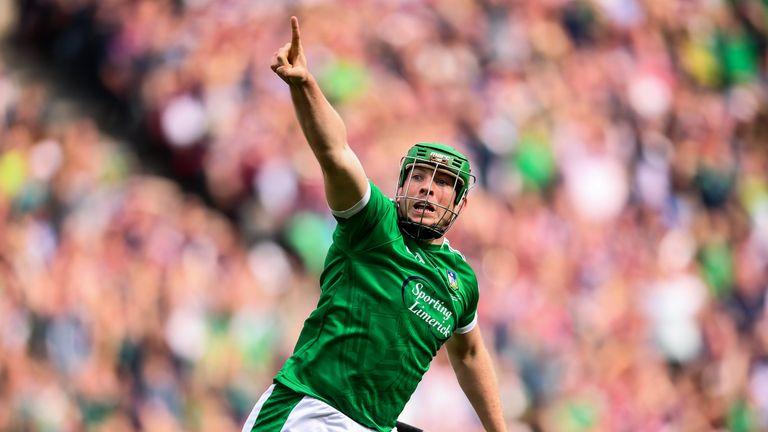 Shane Dowling celebrates his late goal