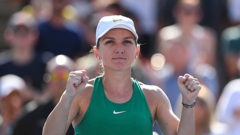 Simona Halep won at Roland Garros this year, her first Grand Slam title