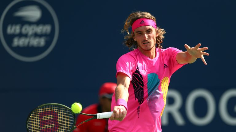 Tsitsipas, appearing in his second ATP final on his 20th birthday, has been the break-out star in Toronto this week