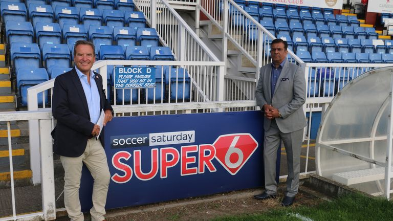 Hartlepool United's Victoria Park has been renamed 'The Super 6 Stadium'