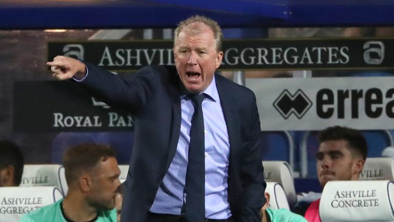 Steve McClaren's team are just two points off the top six in the  Championship