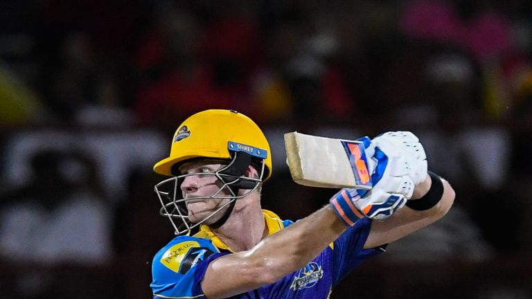 Smith played for Barbados Tridents in the Caribbean Premier League